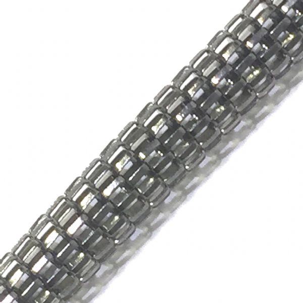 6mm Mesh chain -- gun metal colour -- 1 meter -- 6503004